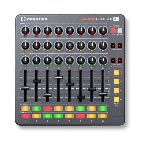 تصویر Novation Launch Control XL کنترلر دی جی- ویترینی