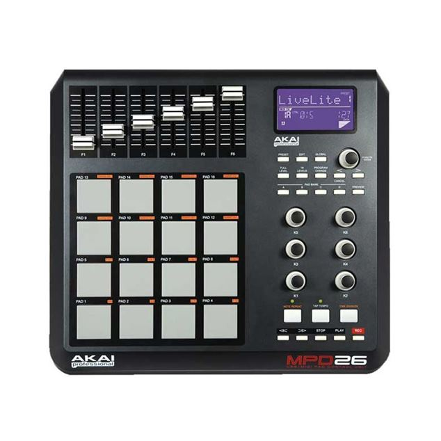 AKAI-MPD26-UP