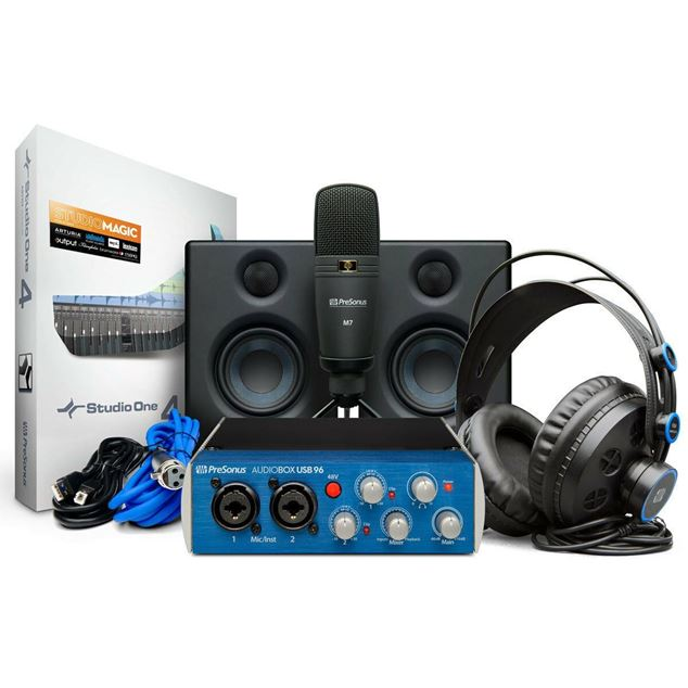 تصویر Presonus AudioBox Studio Package Ultimate Bundle پکیج استودیویی