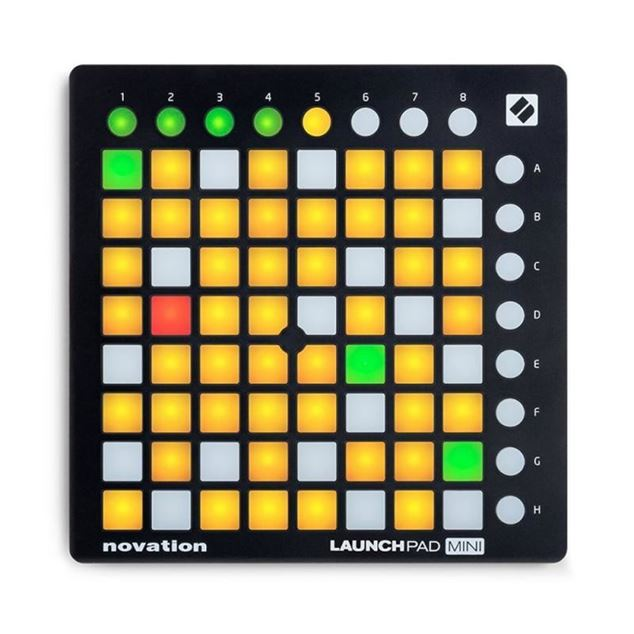 تصویر Novation Launchpad Mini MK2  میدی کنترلر
