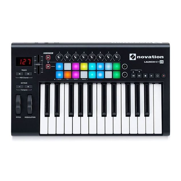 تصویر Novation Launchkey 25 MK2  میدی کنترلر